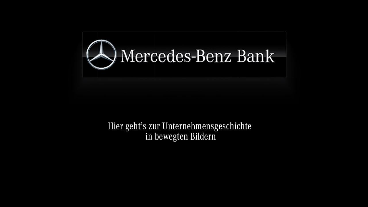 unsere firmengeschichte - tradition & innovation | mercedes-benz bank